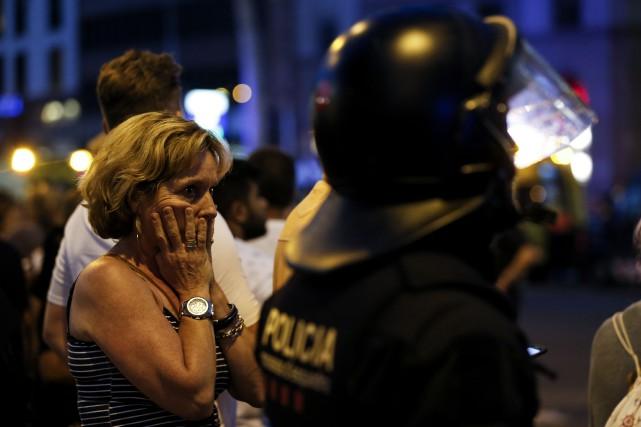 Treize personnes ont été tuées et plus de... (Photo PAU BARRENA, AFP)