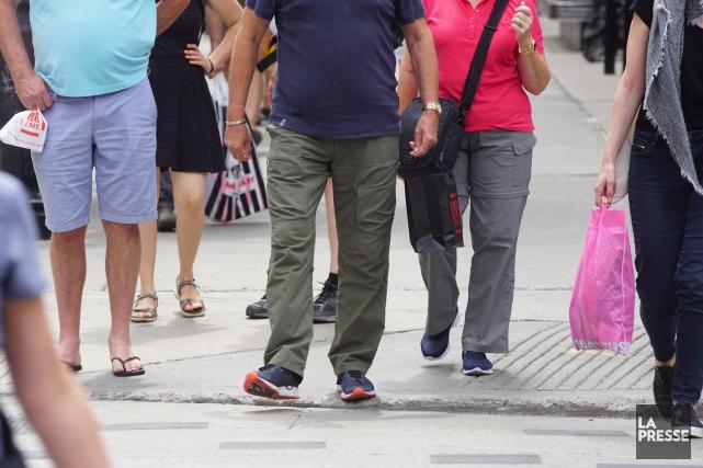 La population québécoise s'est accrue de 0,6% pendant le premier semestre de... (PHOTO MARTIN CHAMBERLAND, ARCHIVES LA PRESSE)