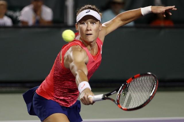 Samantha Stosur... (Photo Geoff Burke, USA Today Sports)