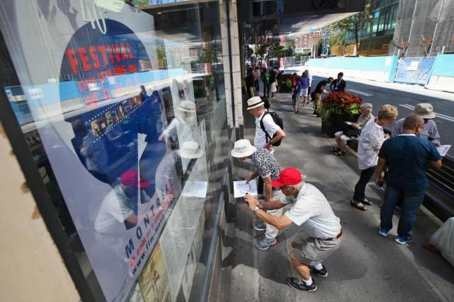 Le41eFestival des films du monde de Montréal s'ouvrira... (Photo Robert Skinner, La Presse)