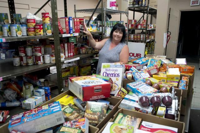 La coordonnatrice des services d'aide alimentaire, Carolle Dupont,...
