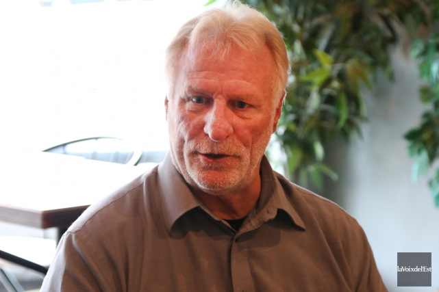 Le conseiller sortant du district neuf, Robert Vincent,... (Janick Marois, La Voix de l'Est)