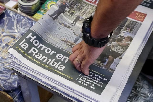 ÉDITORIAL / Après Nice, Berlin, Melbourne, Stockholm et Londres, Barcelone et... (Associated Press)