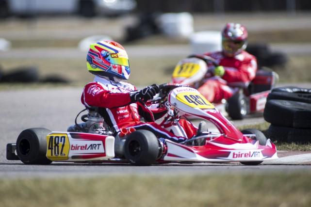 La cinquième manche de la série Karting Tour... (Olivier Croteau)