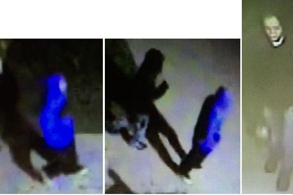 La police a publié des photos des trois...