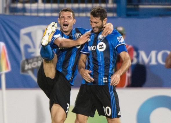 Lorsque Blerim Dzemaili et Ignacio Piattiont été titularisés... (Photo Paul Chiasson, La Presse canadienne)