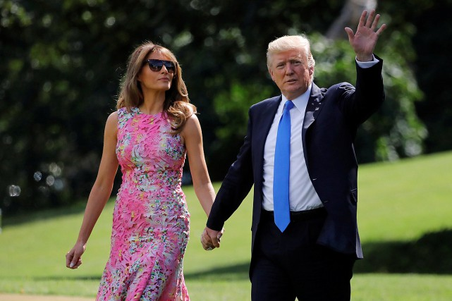 «Le président et la première dame ont décidé... (PHOTO CARLOS BARRIA, ARCHIVES REUTERS)