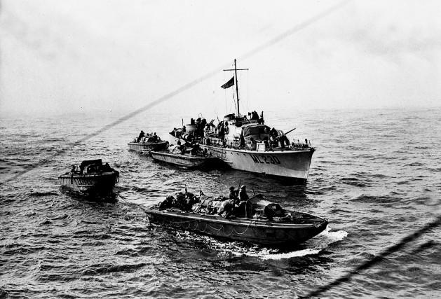 L'attaque sur Dieppe devait se produire avant le... (Archives nationales du canada)