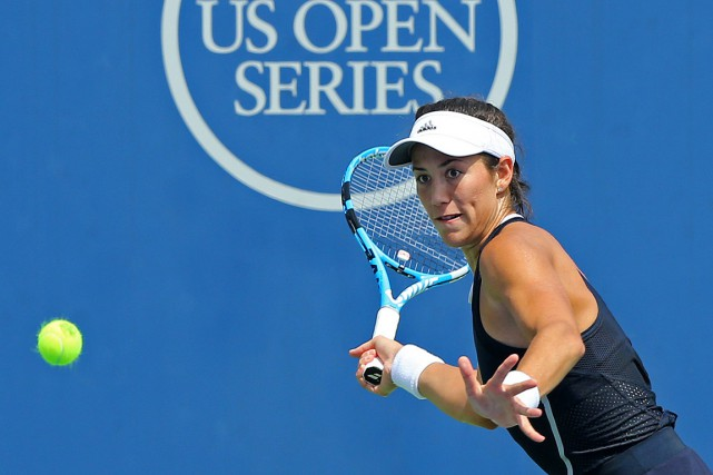 Garbine Muguruza... (PHOTO AARON DOSTER, USA TODAY)
