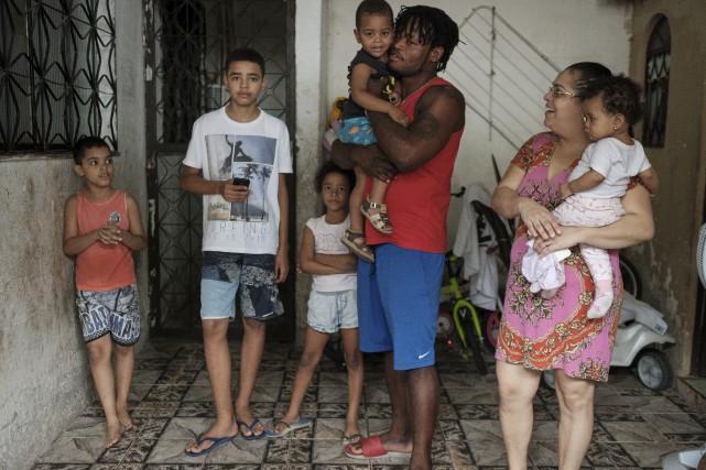 Un an après la gloire olympique, le Congolais... (AFP, Yasuyoshi Chiba)
