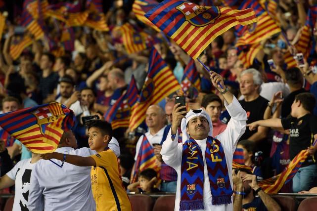 Longtemps, sous la dictature franquiste (1939-1975), le stade... (Photo AFP)