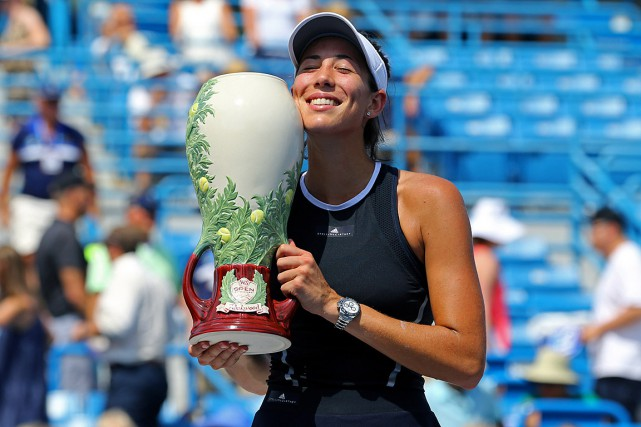 Garbine Muguruzaa ajouté un cinquième titre WTA à... (PHOTO REUTERS)
