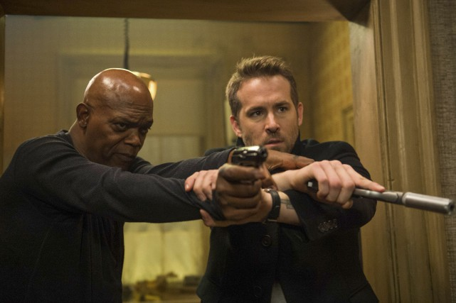 Avec Samuel L. Jackson et Ryan Reynolds dans... (AP)