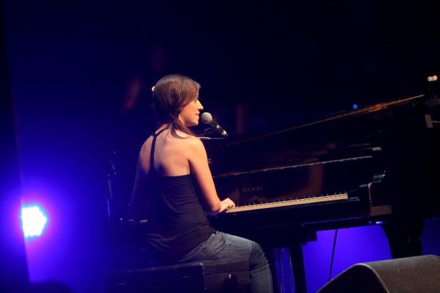 Sophie Villeneuve lors de son passage au Festival... (Courtoisie Julie Catudal)