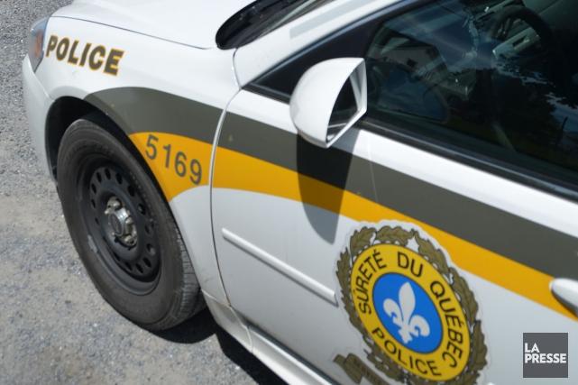 Claude Denis, porte-parole de laSûreté du Québec, confirme... (Archives La Presse)