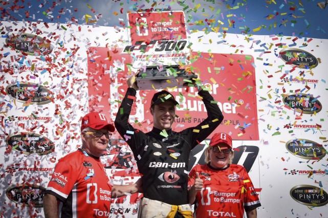Alex Labbé a signé sa quatrième victoire de... (fournie par l'équipe Go Fas Racing)
