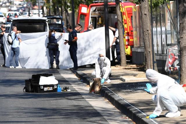 Le secteur du Vieux-Port est complètement bouclé et... (Photo Boris Horvat, Agence France-Presse)