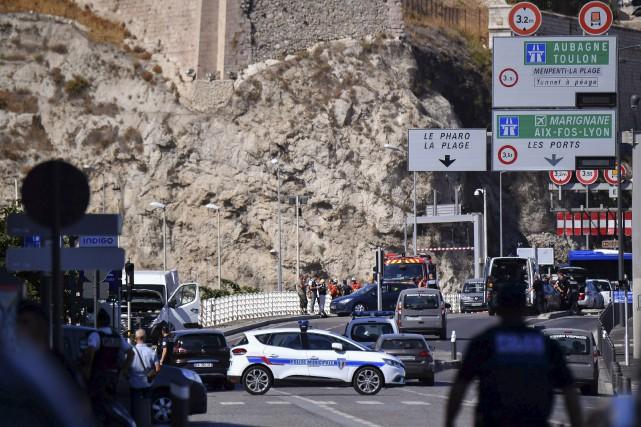 Le secteur du Vieux-Port de Marseille a complètement... (AFP, Bertrand Langlois)