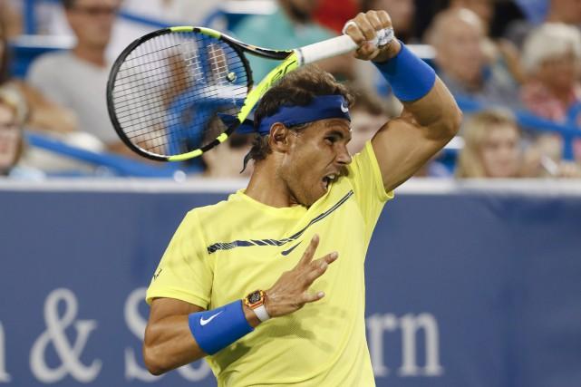 Rafael Nadal... (Photo John Minchillo, AP)