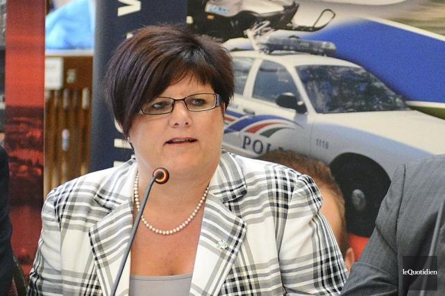 Carolle Dallaire... (Archives Le Quotidien, Jeannot Lévesque)