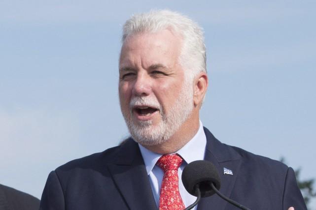 Le premier ministre du Québec, Philippe Couillard, a... (Photo Jacques Boissinot, archives PC)