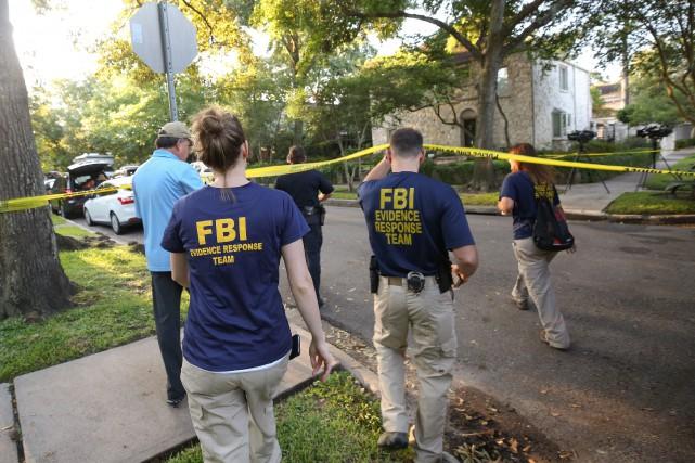 Andrew Schneck a été arrêté samedi soir près... (Photo AP)