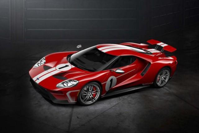 Ford a dévoilé une nouvelle livrée de sa... (PHOTO : FORD)