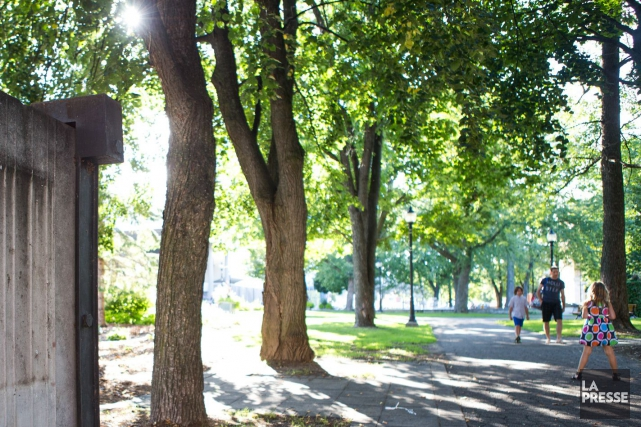 Mais qu'arrive-t-il avec le parc Champlain?... (Olivier Croteau)