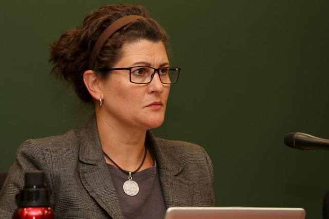 La conseillère Marie-France Beaudry sera en lice pour... (Christophe Boisseau-Dion)