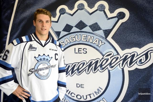 Le défenseurOlivier Galipeau est le nouveau capitaine des... (Photo Le Quotidien, Jeannot Lévesque)