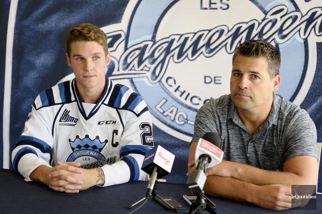 L'entraîneur des Saguenéens, Yanick Jean, a indiqué qu'Il... (Archives Le Quotidien, Jeannot Lévesque)