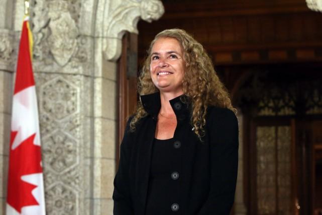 Julie Payette a été nommée gouverneure générale du... (Photo archives La Presse Canadienne)