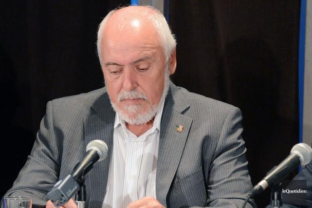 Gilles Potvin, maire de Saint-Félicien... (Archives Le Quotidien, Jeannot Lévesque)