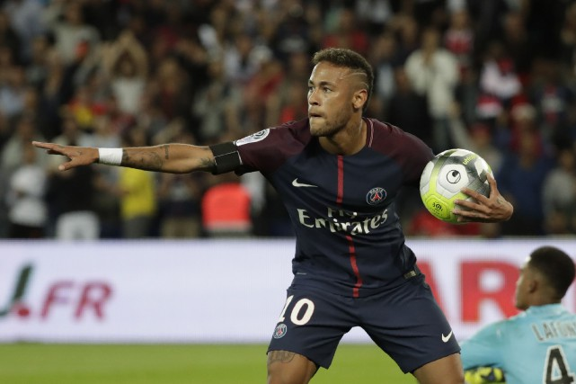 Neymar... (Photo Thomas Samson, AFP)
