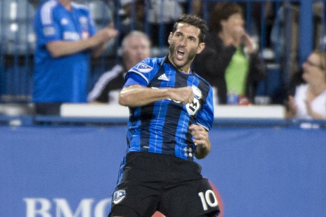 Ignacio Piatti a marqué quatre buts en deux... (Photo Paul Chiasson, PC)