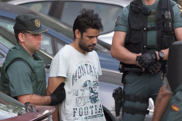 Mohamed Aallaa, l'un des suspects.... (Photo AFP)