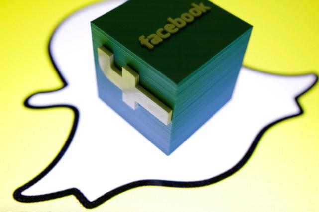 Selon une étude, la base d'utilisateurs de Snapchat... (Photo Dado Ruvic, REUTERS)
