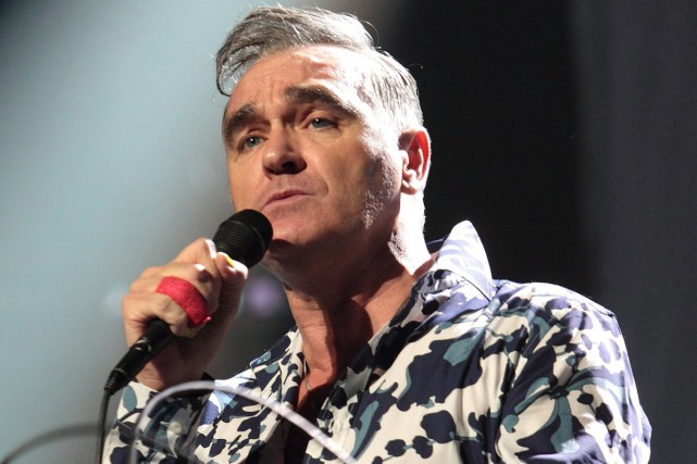 Le crooner rock Morrissey sortira en novembre son premier album depuis trois... (PHOTO ARCHIVES LA PRESSE CANADIENNE)