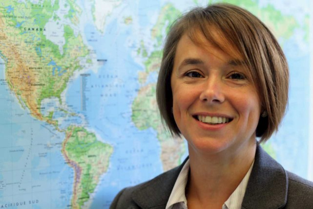 Josée Dallaire, directrice générale du Centre de géomatique... (Photo courtoisie)