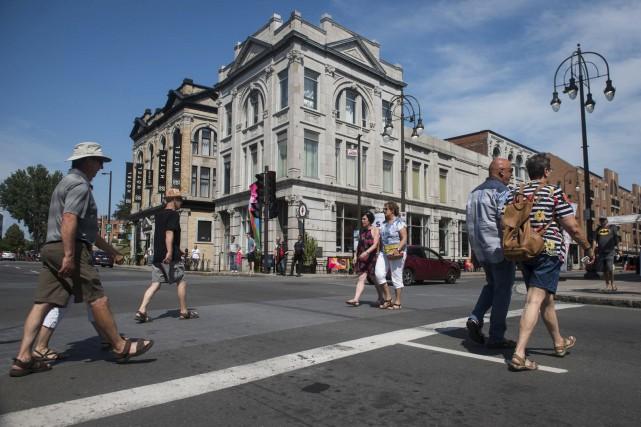 Le centre-ville de Trois-Rivières a subi toute une... (François Gervais)