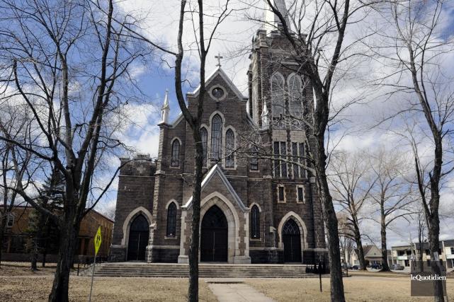 Patrimoine Saint-Édouard souhaite que l'église soit transformée en... (Archives Le Quotidien, Mariane L. St-Gelais)