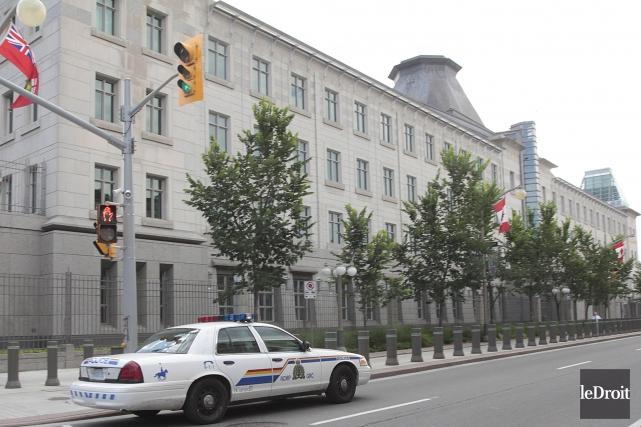 L'ambassade des États-Unis à Ottawa... (Etienne Ranger, archives Le Droit)