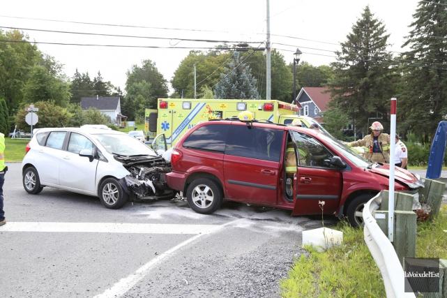 Un autre accident s'est produit mercredi dernier au... (Janick Marois, archives La Voix de l'Est)