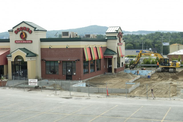 Le nouveau restaurant Burger King sera situé sur... (Spectre Média, Maxime Picard)
