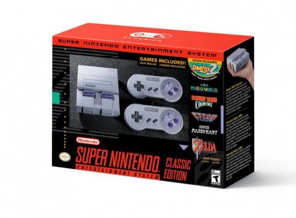 La console SNES Classic Edition ne sera pas... (photo fournie par nintendo)