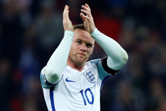 Wayne Rooney a inscrit53 buts en 119 sélections... (Photo Eddie Keogh, archives Reuters)