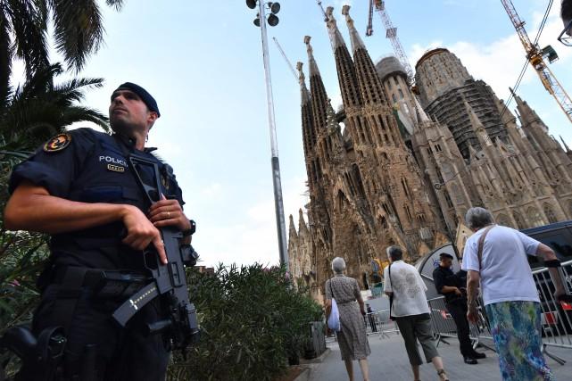 «Nous avons déjà une présence à la Sagrada... (AFP)