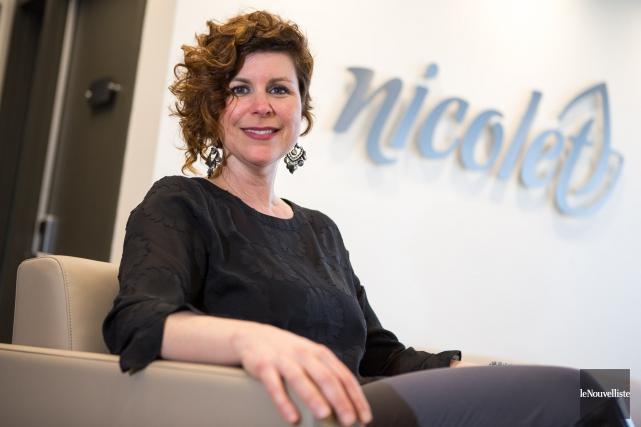 Geneviève Dubois sollicite un nouveau mandat à la... (Photo: Olivier Croteau, Le Nouvelliste)