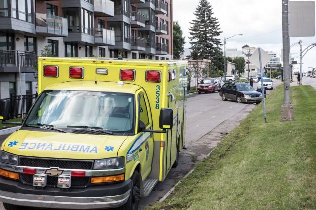 Une collision entre une voiture et un piéton a fait une blessée grave mercredi...