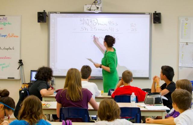 Le sentiment de compétence de l'enseignant vient avec... (Photo Alain Roberge, La Presse)